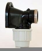 Applique murale polypropylène pour robinet Plasson diam.20x27mm pour tuyau polyéthylène diam.25mm en vrac 1 pièce - Arrosages enterrés - Aménagements extérieurs - GEDIMAT