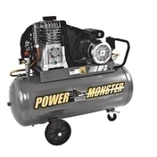 Compresseur POWER MONSTER professionnel 3HP 100L MONO - Compresseurs - Outillage - GEDIMAT