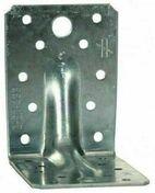 Equerre simple en acier galvanisé ép.1,5mm larg.65mm long.75/48mm - Bois Massif Abouté (BMA) Sapin/Epicéa traitement Classe 2 section 45x95 long.7,50m - Gedimat.fr