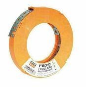 Feuillard acier galvanisé perforé larg.20mm ép.0,9mm rouleau 10m - Tuile châtière DC12 coloris flammé languedoc - Gedimat.fr