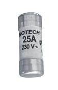 Cartouche fusible céramique cylindrique sans témoin de fusion diam.10,3mm long.31,5mm intensité 25A sous blister de 3 pièces - Fusibles - Electricité & Eclairage - GEDIMAT