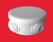 Boite de dérivation électrique étanche ronde étanchéité classe II diam.70mm haut.35mm coloris gris - Poutre VULCAIN section 25x50 cm long.8m pour portée utile de 7,1 à 7,60m - Gedimat.fr
