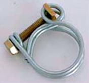 Colliers double fil galvanisé diam.12mm sous blister de 2 pièces - Tuyaux d'arrosage - Plein air & Loisirs - GEDIMAT
