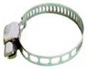 Collier de serrage en acier galvanisé pour tuyaux diam.13 à 24mm - carte de 2 pièces - Tuyaux d'arrosage - Plein air & Loisirs - GEDIMAT
