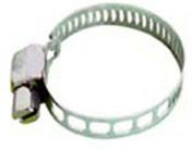 Collier de serrage à bande ajourée acier inoxydable larg.5mm long.7 à 11mm sur carte de 2 pièces - Tuyaux d'arrosage - Plein air & Loisirs - GEDIMAT