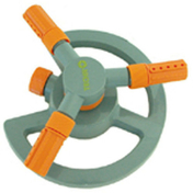 Arroseur rotatif à 3 bras à buses réglables vendu à l'unité - Tuyaux d'arrosage - Aménagements extérieurs - GEDIMAT
