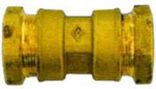 Manchon égal en laiton diam.25mm - Poutre VULCAIN section 20x65 cm long.5,00m pour portée utile de 4,1 à 4,60m - Gedimat.fr