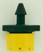 Goutteur réglable débit 0 à 70 L/heure en sachet vrac de 50 pièces - Arrosages goutte à goutte - Aménagements extérieurs - GEDIMAT