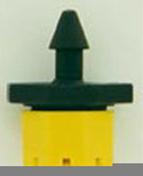 Goutteur réglable sur poincon débit 0 à 70 L/heure en sachet vrac de 100 pièces - Arrosages goutte à goutte - Aménagements extérieurs - GEDIMAT