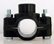 Collier de prise en charge pour tuyau polyéthylène diam.32mm sortie diam.20X27mm en vrac 1 pièce - Arrosages enterrés - Aménagements extérieurs - GEDIMAT