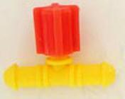 Vanne réglable pour tube conducteur diam.4mm sous coque de 3 pièces - Arrosages goutte à goutte - Aménagements extérieurs - GEDIMAT