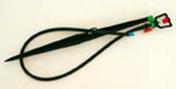 Micro asperseur avec pique angle 180° Techno sous blister de 1 pièce - Poutre VULCAIN section 12x40 cm long.4,50m pour portée utile de 3,6 à 4,10m - Gedimat.fr