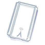 Tuile de verre CHAGNY ( Montchanin Losangée) long.41,5cm larg.24,5cm - Tuiles et Accessoires - Couverture & Bardage - GEDIMAT