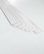 Lambris PVC BLANC ECO �p.10mm larg.100mm long.2.70m blanc brut - Profil PVC raccord clipsable pour lambris �p.8 � 10mm long.2,60m blanc - Gedimat.fr