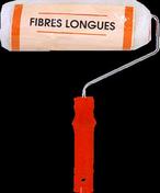 Rouleau indémontable fibres longues polyester manche polypropylène creux larg.180mm diam.40mm - Plinthe Sapin Epicéa Nord Blanc bords droits ép.10mm larg.70mm long.3.90m - Gedimat.fr