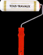Rouleau indémontable mousse tous travaux manche polypropylène creux larg.180mm diam.18mm - Plinthe carrelage pour sol en grès cérame émaillé IPER larg.8cm long.33,3cm coloris bianco - Gedimat.fr