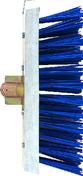Balai de cantonnier fibres PVC vertes avec racloir en acier galvanisé semelle bois 32cm - Outillage polyvalent - Outillage - GEDIMAT