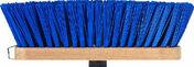 Balai de cantonnier droit fibres PVC vertes semelle bois 29cm - Outillage polyvalent - Outillage - GEDIMAT