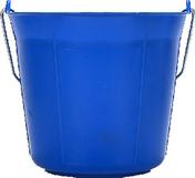 Seau rond polypropylène qualité supérieure anse métallique 11 litres bleu - Outillage du peintre - Peinture & Droguerie - GEDIMAT
