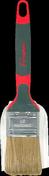 Brosse plate spéciale peinture glycéro manche bi matière larg.4cm n°40 - Mastic vitrier à l'huile de lin MONDIAL seau 5kg - Gedimat.fr