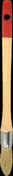 Brosse à rechampir spécial glycéro professionnel fibres soies manche bois verni n°0 diam.18mm - Protection grande surface trs P728 larg.1,10m long.20m - Gedimat.fr
