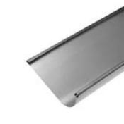 Gouttière HAVRAISE avec pince zinc naturel ép.0,80mm développé 33,3cm long.4m - Bande de chant mélaminé pré-encollé ép.4mm larg.23mm long.100m Chêne Oakland - Gedimat.fr