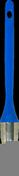 Brosse à rechampir mélange soies fibres synthétiques spécial acryl manche polypropylène n°6 diam.29mm - Brosse à rechampir mélange soies fibres synthétiques spécial acryl manche polypropylène n°3/0 diam.15mm - Gedimat.fr