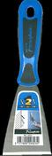 Riflard lame acier trempé manche bi matière ergonomique 7cm - Lunettes de protection polycarbonate bleu - Gedimat.fr