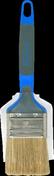 Brosse plate spéciale peinture acrylique larg.4cm n°50 - Panneau de Particule Surfacé Mélaminé (PPSM) ép.19mm larg.2,07m long.2,80m Vanille finition Velours Bois poncé - Gedimat.fr