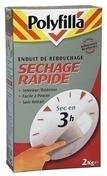 Enduit de rebouchage poudre sechage rapide 1 kg - Enduits de rebouchage - Peinture & Droguerie - GEDIMAT