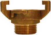 Raccord EXPRESS en laiton mâle diam.20x27mm en blister - Pompes et Accessoires - Aménagements extérieurs - GEDIMAT