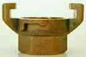 Raccord EXPRESS en laiton femelle diam.26x34mm en blister - Pompes et Accessoires - Aménagements extérieurs - GEDIMAT