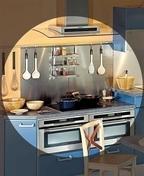 Crédence inox 18/10ème larg.90cm haut.70cm - Plans de travail - Crédences - Cuisine - GEDIMAT
