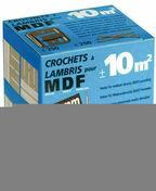 Clips pour lambris n°2 revêtu boite de 250 pièces - Lambris - Revêtements décoratifs - Menuiserie & Aménagement - GEDIMAT
