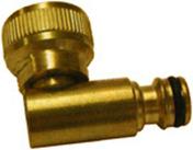 Coude d'arrosage automatique laiton diam.20x27mm sous blister de 1 pièce - Tuyaux d'arrosage - Plein air & Loisirs - GEDIMAT