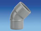 Coude d'évacuation en PVC à 45° mâle-femelle diam.40mm - Manchon à sertir pour tube multicouches NICOLL Fluxo diam.20mm avec écrou prisonnier diam.15x21mm - Gedimat.fr