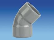 Coude d'évacuation en PVC à 45° femelle-femelle diam.32mm - Enduit monocouche lourd grain moyen MONODECOR GM sac de 30kg coloris O223 - Gedimat.fr