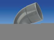 Coude d'évacuation en PVC à 67°30 femelle-femelle diam.125mm - Pas japonais pierre reconstituée EDEN dim.39x30cm ép.3,2cm coloris gris - Gedimat.fr