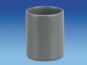 Manchon à butée en PVC femelle-femelle diam.40mm - Contreplaqué rainuré 1 face tout Okoumé CTBX ép.10mm larg.1,207mm long.3,10m - Gedimat.fr