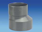 Réduction extérieure excentrée en PVC mâle-femelle diam.160/140mm - Clou Hema 115G pour béton cellulaire - Gedimat.fr