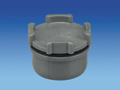 Tampon de visite en PVC avec bouchon diam.32mm - Mamelon laiton chromé réduit 246 femelle diam.15x21mm mâle diam.12x17mm sous coque de 1 pièce - Gedimat.fr