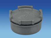 Tampon de visite en PVC avec bouchon diam.50mm - Poutre HERCULE section 27x20cm long.5.7m pour portée utile de 4.7 à 5.30m - Gedimat.fr