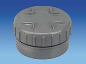 Tampon de visite en PVC avec bouchon diam.100mm - Porte de service isolante VANNES en PVC droite poussant haut.2,00m larg.80cm - Gedimat.fr