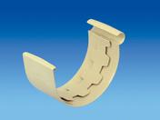 Jonction à coller pour gouttière PVC de 25 coloris sable - Coude laiton brut mâle à visser réf.92 diam.15x21mm 1 pièce en vrac avec lien - Gedimat.fr