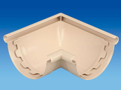 Angle intérieur/extérieur à coller 90° pour gouttière PVC 25 coloris sable - Télécommande murale pour motorisation radio - Gedimat.fr