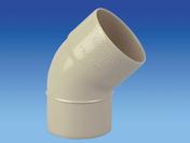 Coude PVC pour tube de descente de gouttière diam.80mm angle 45° mâle-femelle coloris sable - Coude PVC assainissementmF 90° diam.160mm type SDR 34 - Gedimat.fr