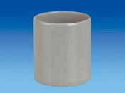 Manchon à butée en PVC femelle-femelle diam.250mm - Plan de travail stratifié ép.38mm larg.65cm long.4,1m R4 décor béton blanc - Gedimat.fr