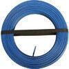 Câble électrique unifilaire cuivre H07VU section 1,5mm² coloris bleu en bobine de 100m - Four multifonction pyrolyse BOSCH 65L coloris noir - Gedimat.fr