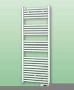 Sèche serviettes électrique ATOLL SPA puissance 750W haut.135.8cm larg.50cm blanc - Bloc-porte FUJI isolant revêtu mélaminé structuré finition frêne blanc haut.204cm larg.83cm droit poussant - Gedimat.fr