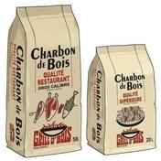 Charbon de bois sac qualité supérieure 20 L - Barbecues - Fours - Planchas - Plein air & Loisirs - GEDIMAT